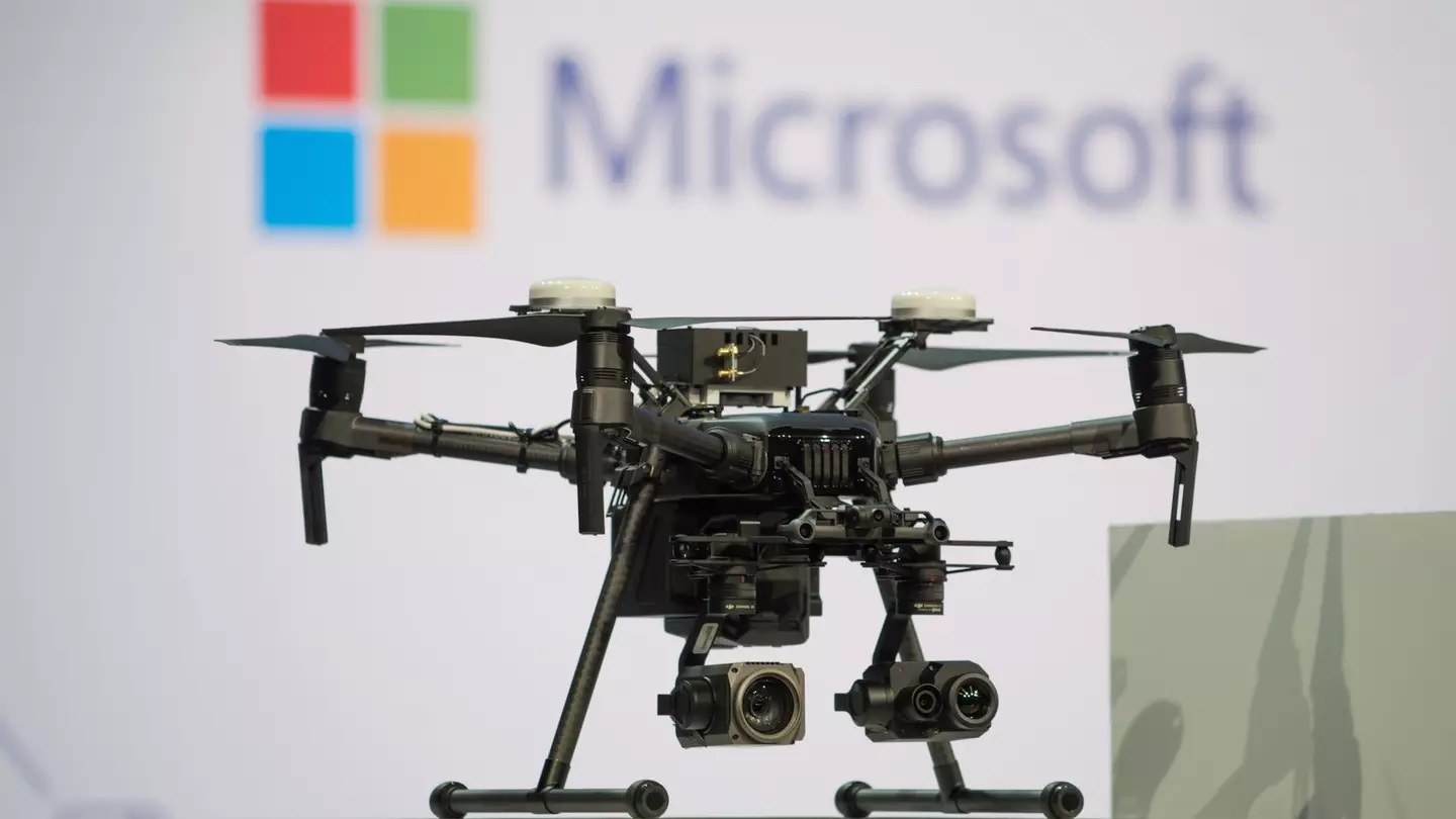 Microsoft comes to the rescue of partner DJI in drone battle with Autel Robotics 1