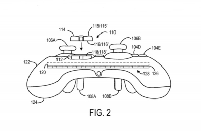 Microsoft patents apparent Elite controller successor with fully customisable buttons 1