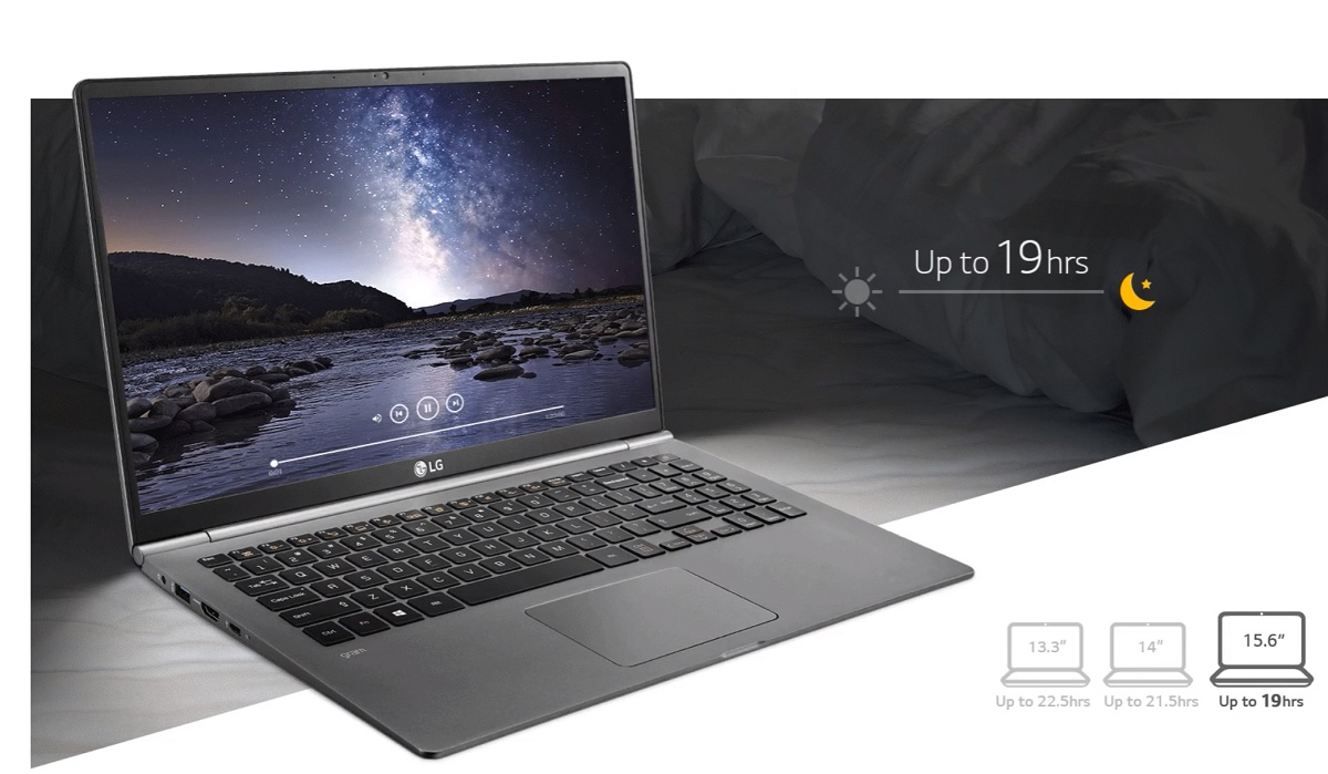 FCC leak suggests LG to stretch thin and lightest laptop to 17 inches