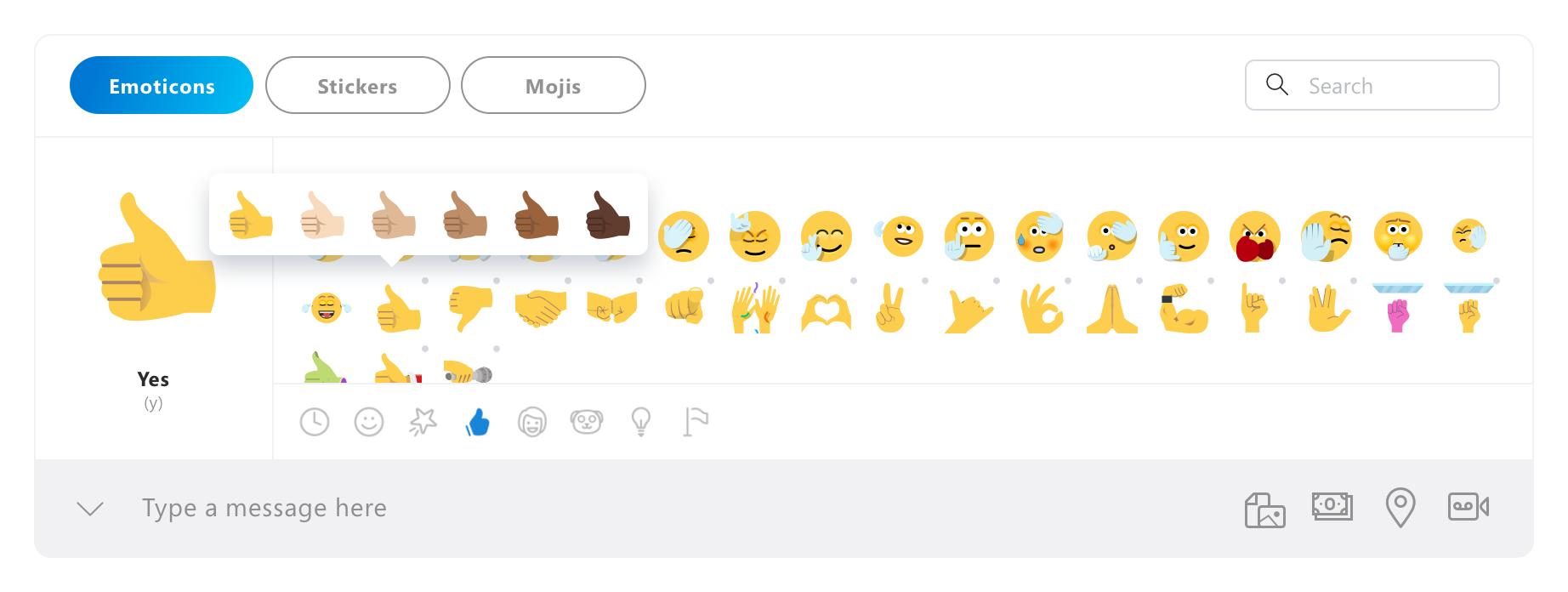 Skype Insider Preview Brings Emoji Improvements Mspoweruser