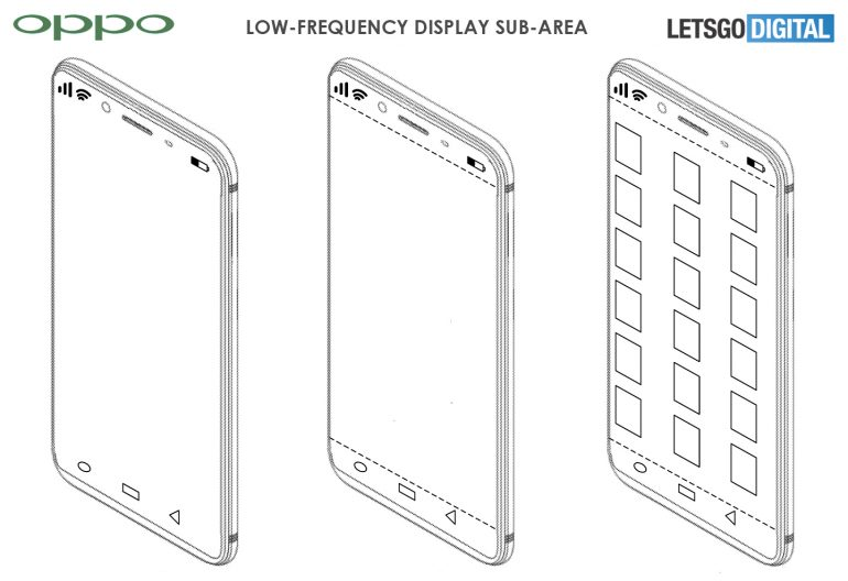 Oppo files a patent for under-display camera module 1