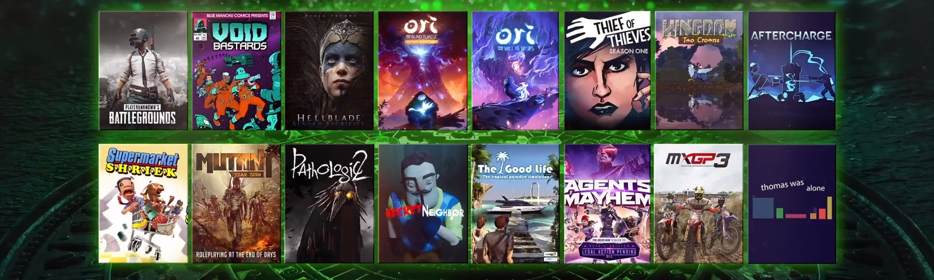photo of XO18 announces 16 new games for Xbox Game Pass image