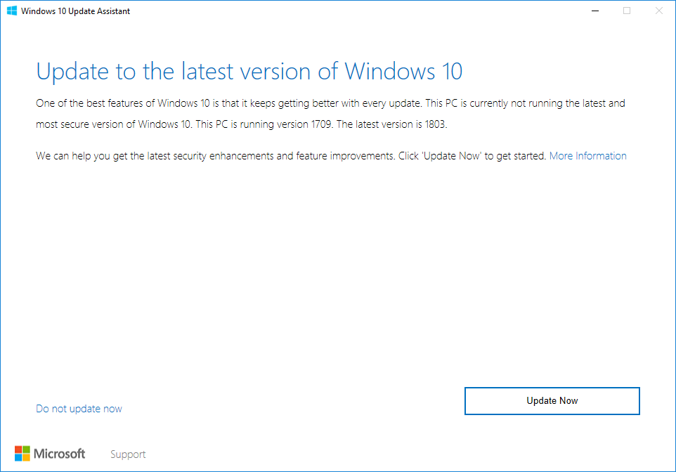 Microsoft could force Windows 10 update onto users