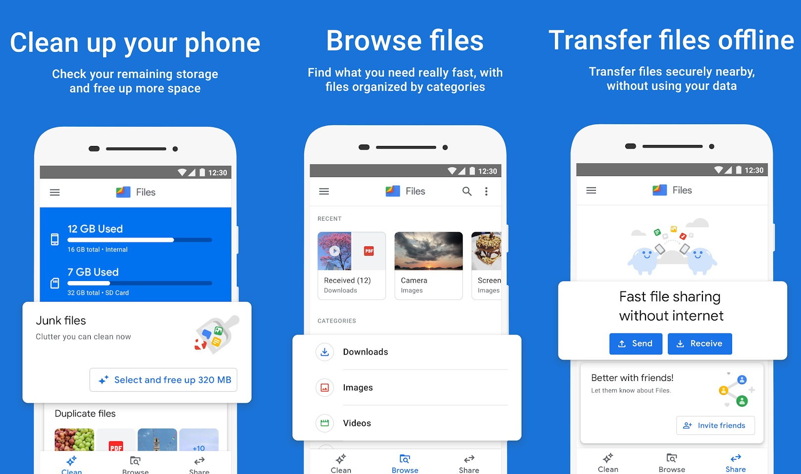 Files by Google app updated with support for external USB