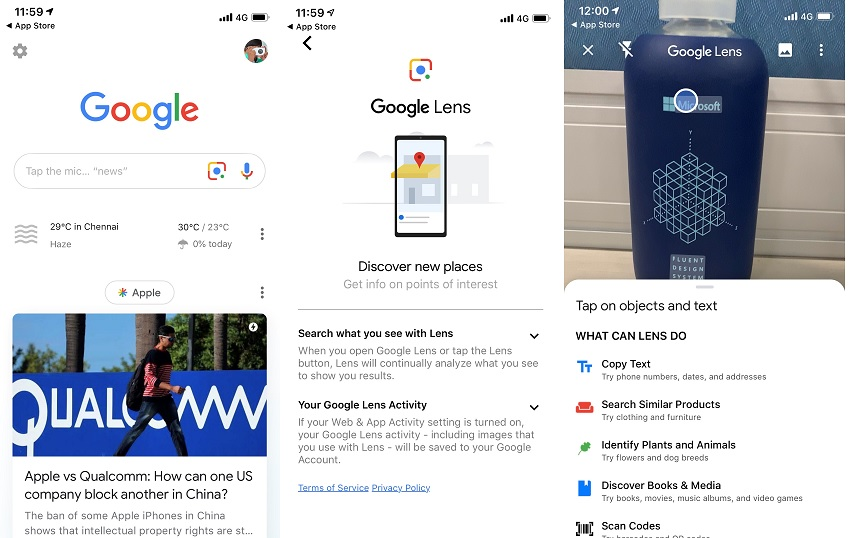 Google Lens visual search feature comes to official Google app on