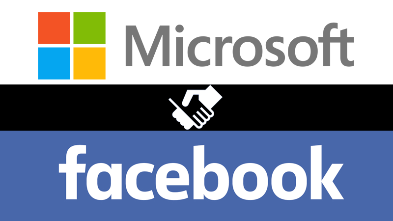 Image result for facebook and microsoft
