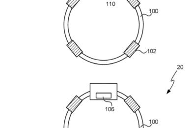 Microsoft files a patent for a wearable device with actuators 24