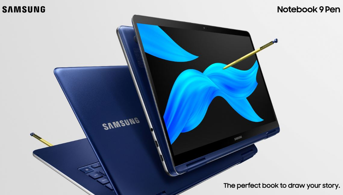 Samsung's lightweight Notebook 9 Pen is aimed at creators