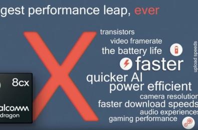 Qualcomm announces Snapdragon 8cx processor targeting Always Connected PCs 14