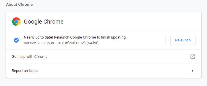Nuevo Chrome 71 con bloqueo de anuncios abusivos 1