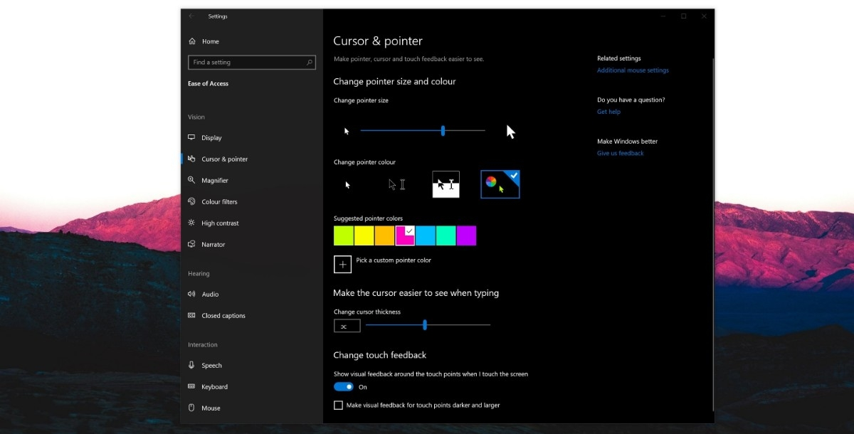 How to customize your mouse pointer and cursor in Windows 10