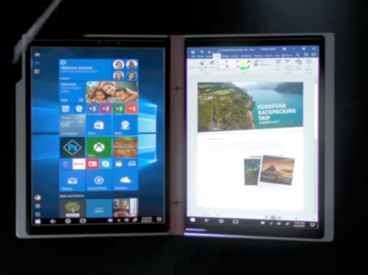 Bizarre rumour suggests Qualcomm's Dual-screen Windows 10 PC is simply two Surface Go glued together 1