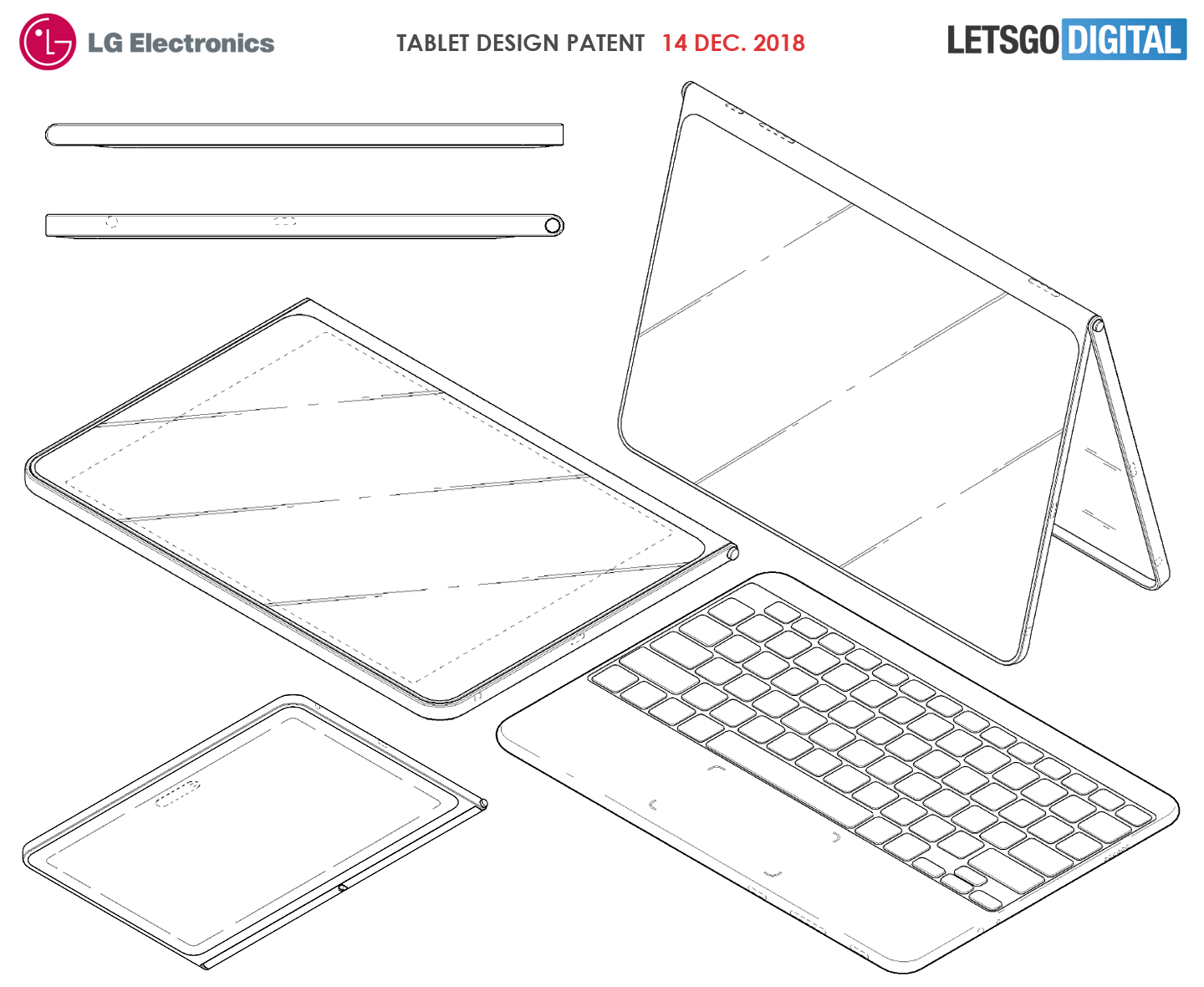 lg tablet keyboard lg may release a cool tablet with edge to edge screen and wireless