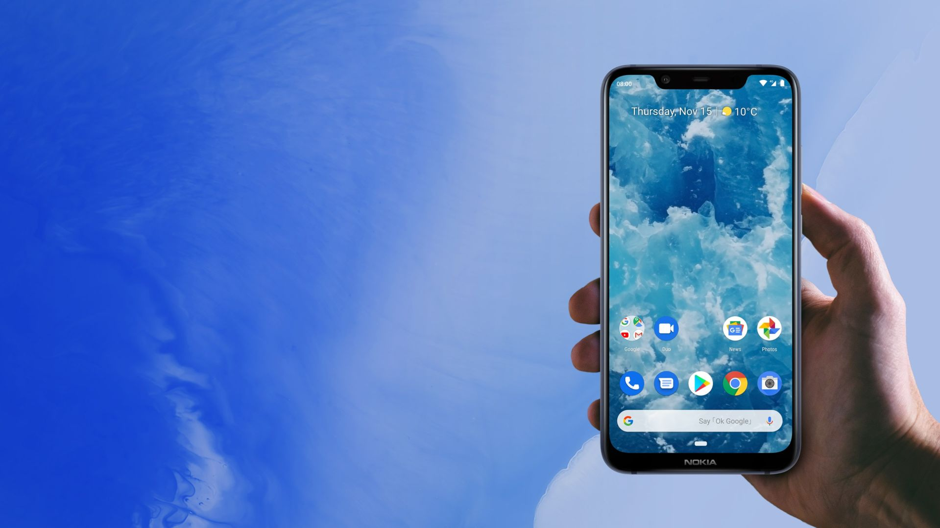 Hands on videos and photos of Nokia 8.1