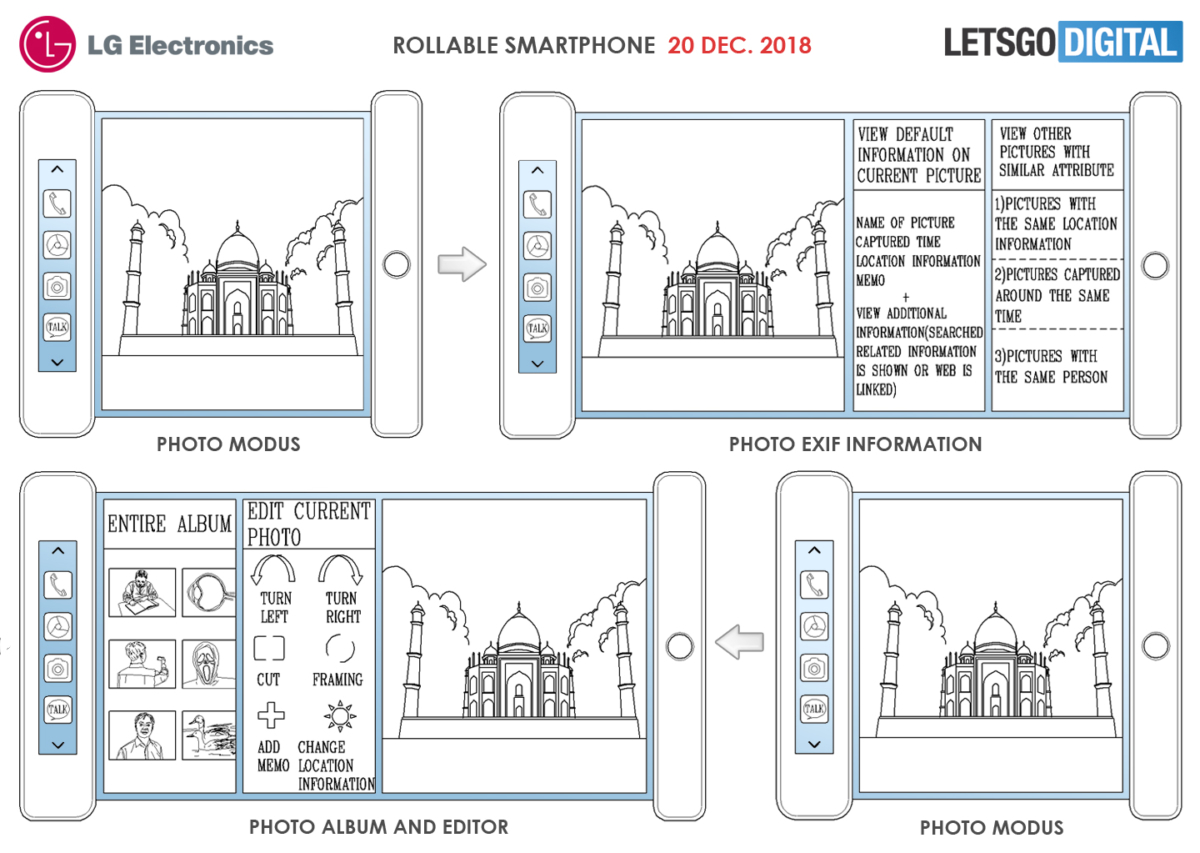 They see me rolling.... LG's flexible smartphone patent points to the past and the future 1
