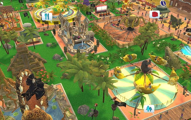 Review: RollerCoaster Tycoon Adventures is a beautiful but