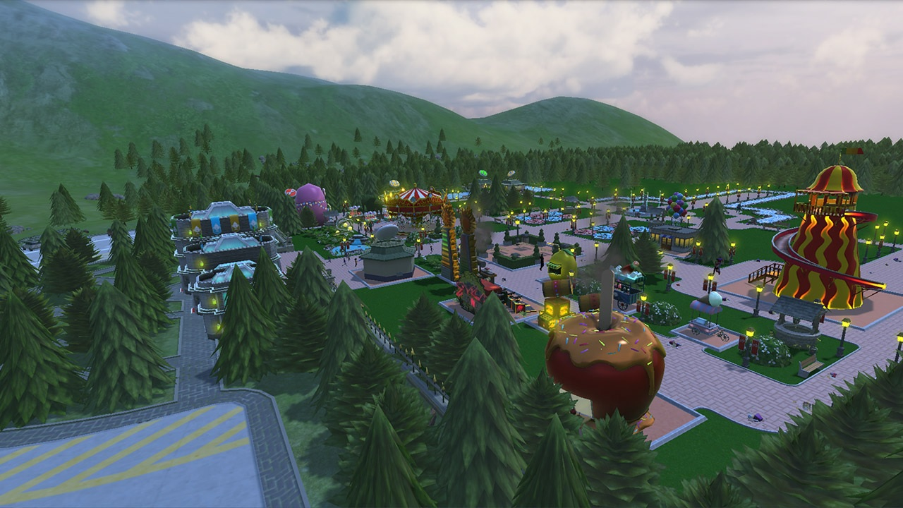 Review: RollerCoaster Tycoon Adventures is a beautiful but bumpy