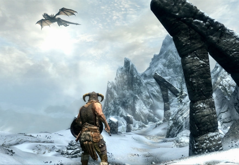 Ten Games That Have Snow In Them, Meaning That You Can