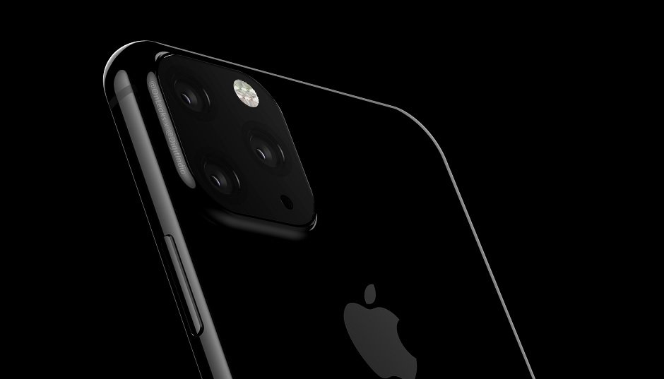 2019's Apple iPhone surfaces with a triple rear-facing camera setup