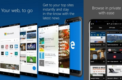Microsoft Edge for iOS and Android updated with single sign-on support and more 3