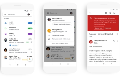 Google releases new look for Gmail on mobile 11