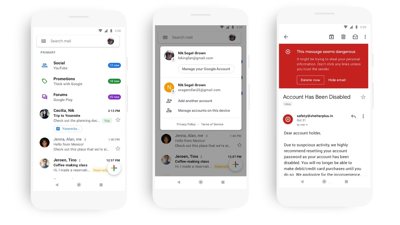 You will soon be able to schedule your emails in the Gmail app 1