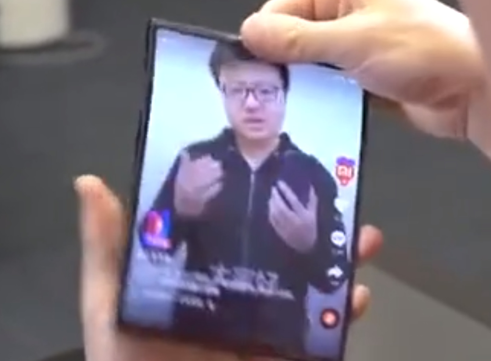 Xiaomi co-founder presents double-folding smartphone