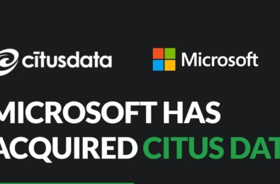 Microsoft acquires Citus Data, the extension that turns PostgreSQL into a distributed database 1