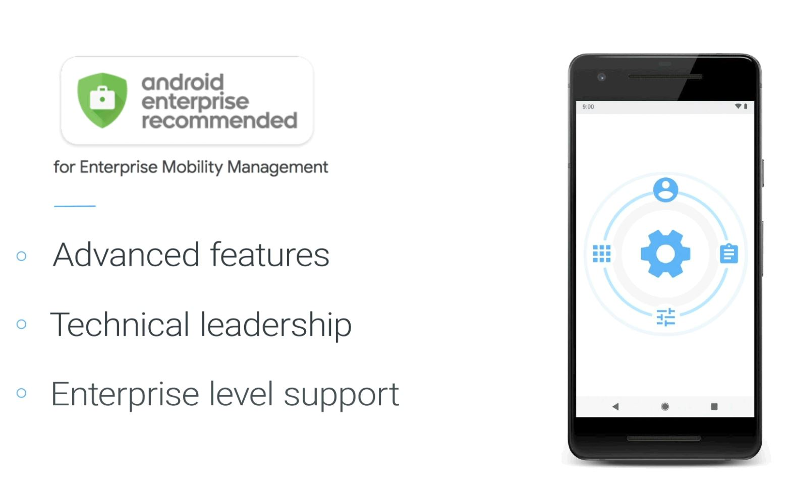 Microsoft Intune is now Android Enterprise Recommended 1