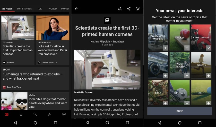 Microsoft News mobile app for iOS and Android updated with new