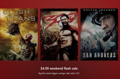 Deal: Save big on movies with Microsoft Store's weekend flash sale 1