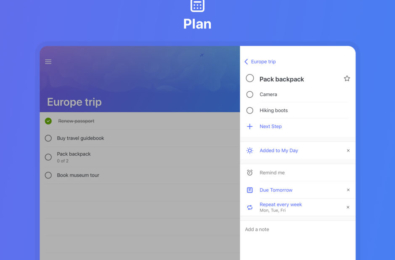 Microsoft To-Do for iOS updated with a three pane layout for iPad 17