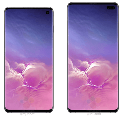 Samsung Galaxy S10 and S10 Plus leaks in Ceramic Black ahead of the official launch 1