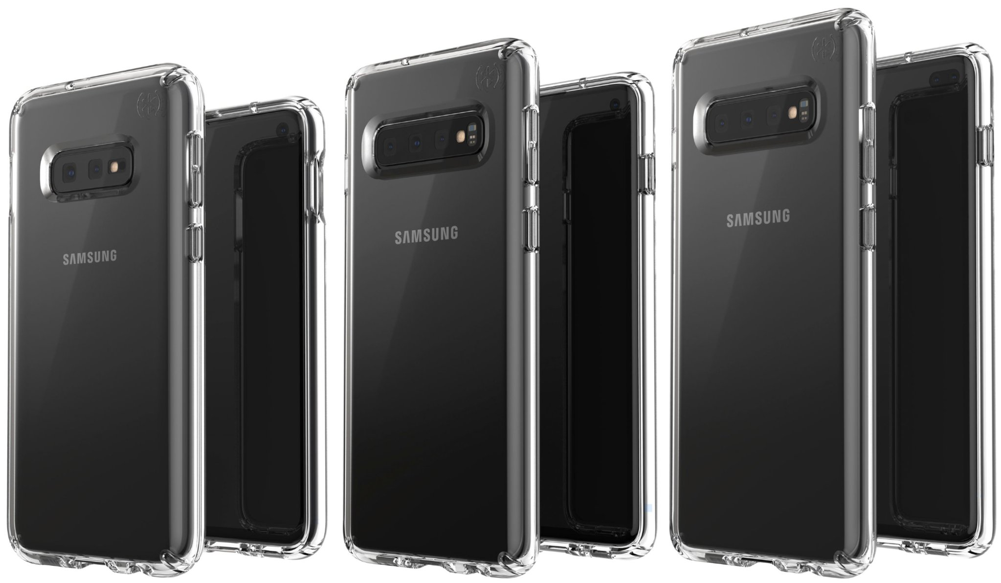 Photos Galaxy S10E, S10 and S10 + leak out