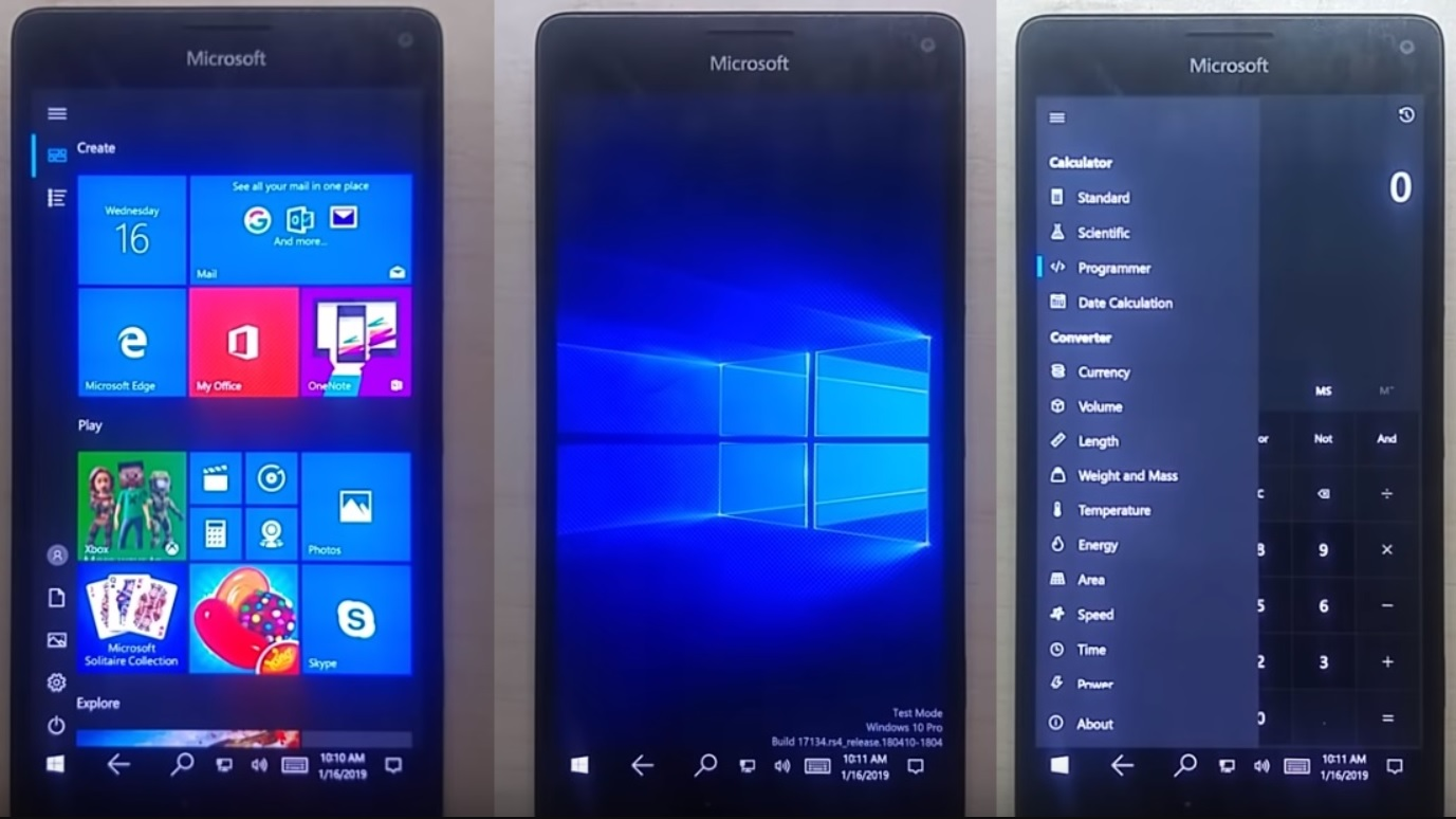 Windows 10 For Arm On The Lumia 950 Makes More Progress