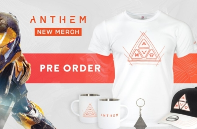 Numskull Designs' new Anthem merchandise looks almost as cool as the game 11
