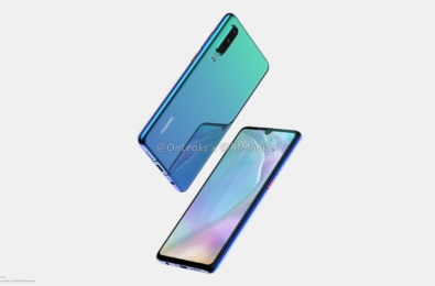 This is what Huawei's new Huawei P30 flagship looks like 14