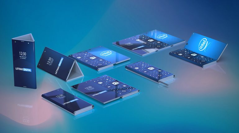 Intel might be working on a foldable Windows phone