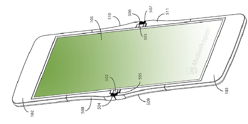 This patent possibly reveals the design of Motorola's foldable RAZR phone