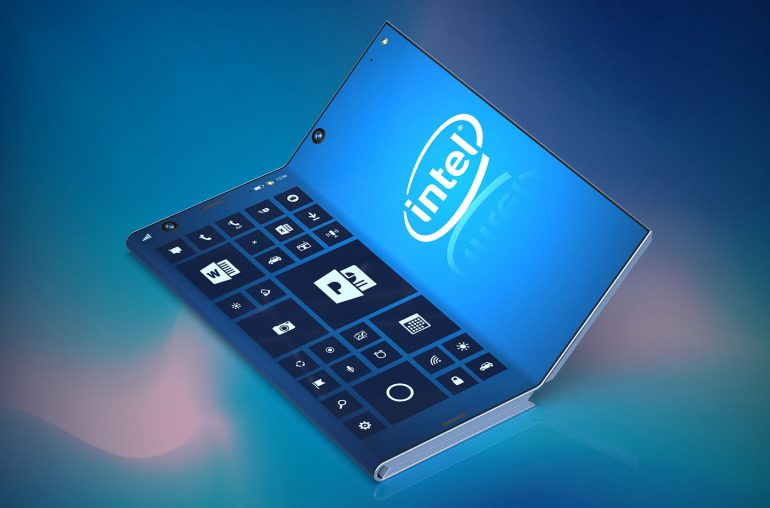 Patent An Idea >> Intel is working on the foldable smartphone of our dreams ...