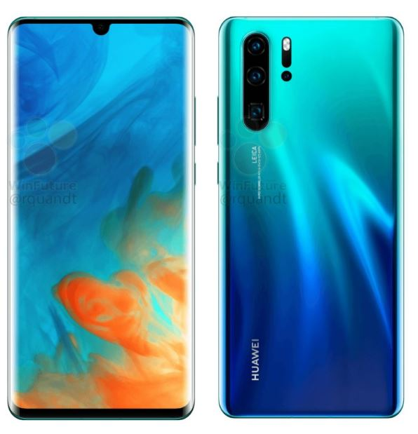 Another hands-on image of Huawei P30 Pro appears online