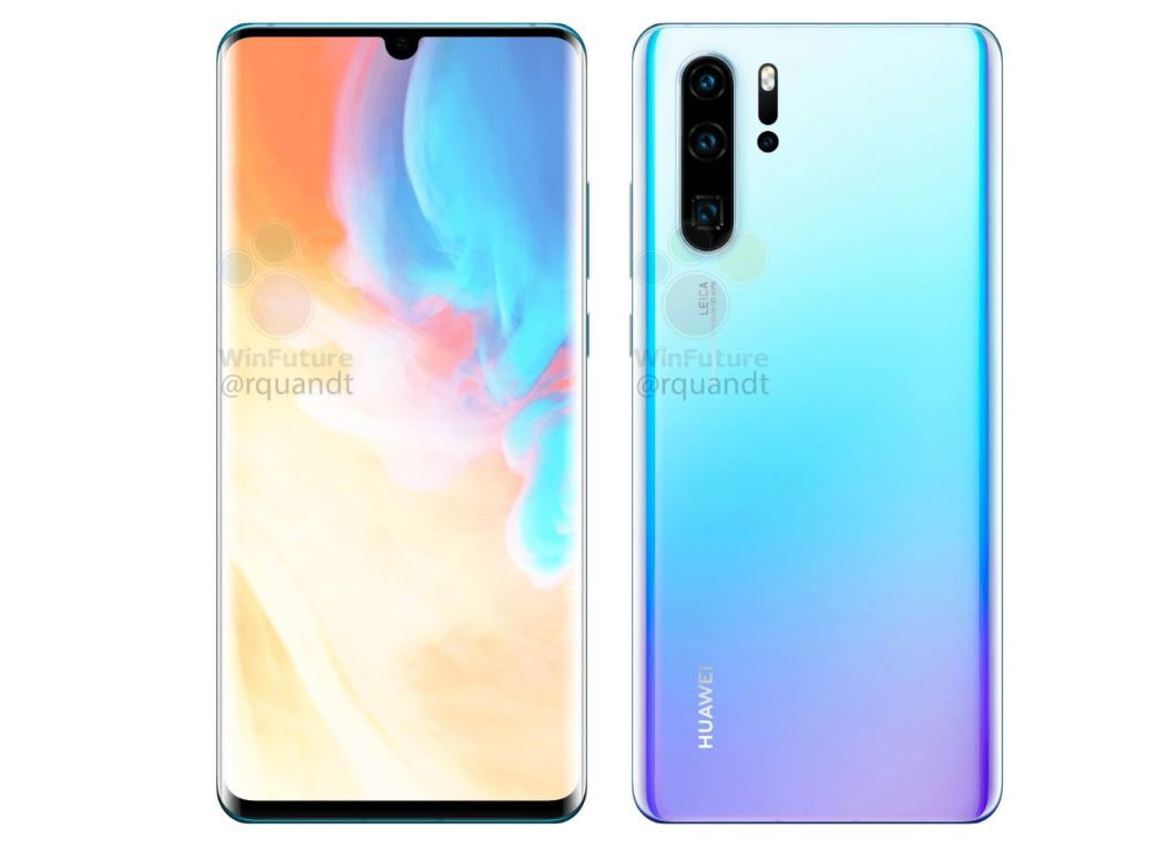 Huawei P30 Pro renders confirm S10-rivalling quad-camera array