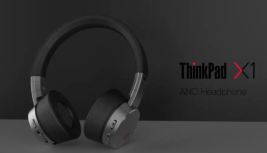 Lenovo ThinkPad X1 ANC Headphone - MSPoweruser