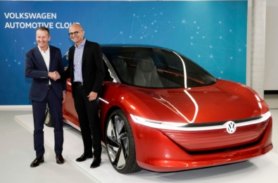 Microsoft and Volkswagen share progress on development of Volkswagen Automotive Cloud 15