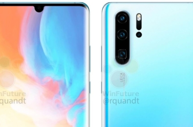 This is what the Huawei P30 Pro looks like 6