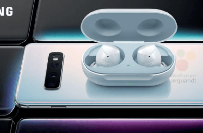 This Samsung Galaxy Buds photo confirms one of Samsung Galaxy S10's neatest tricks 9