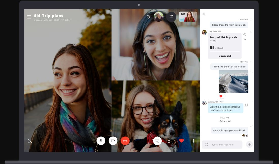 Skype now allows you to merge an incoming call into an ongoing call 1
