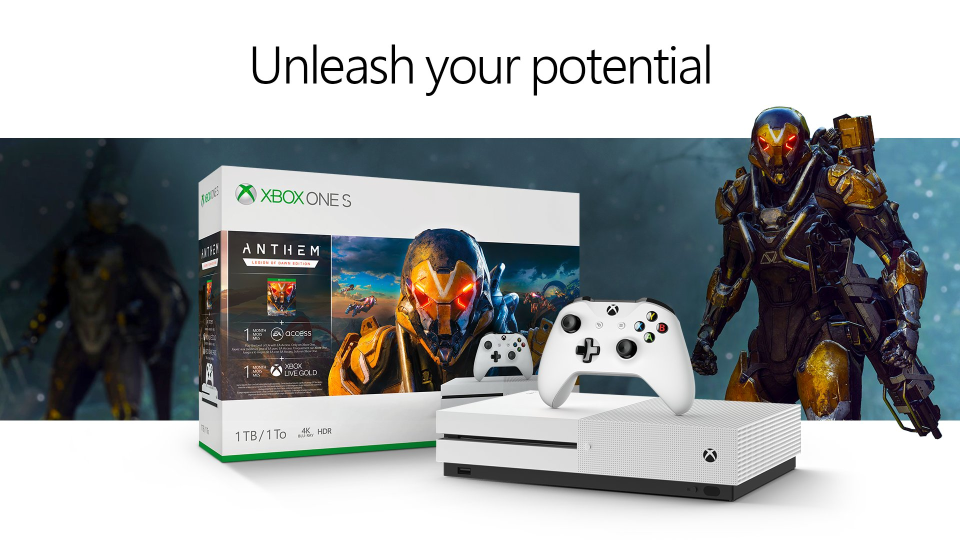 Xbox One S Anthem Bundle announced, will be available on February 15 1