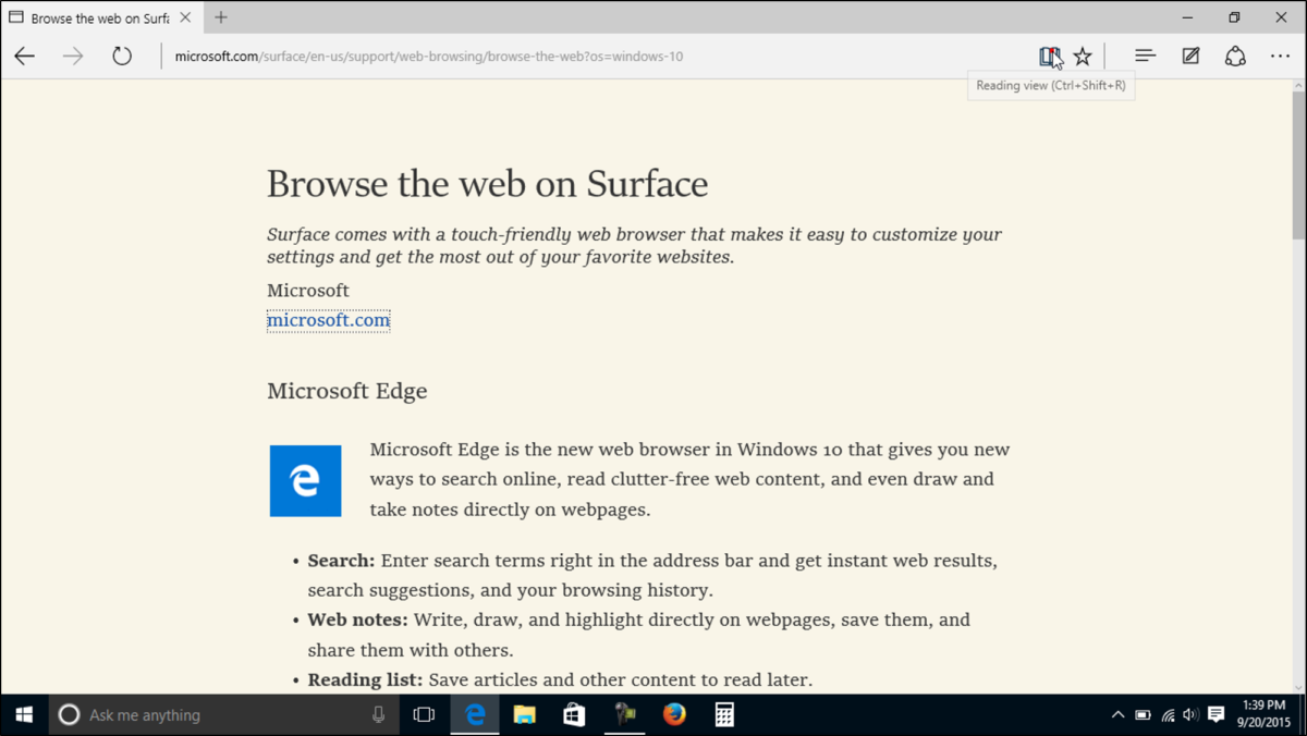photo of Google Chrome browser to get Edge's Reading View on the desktop image