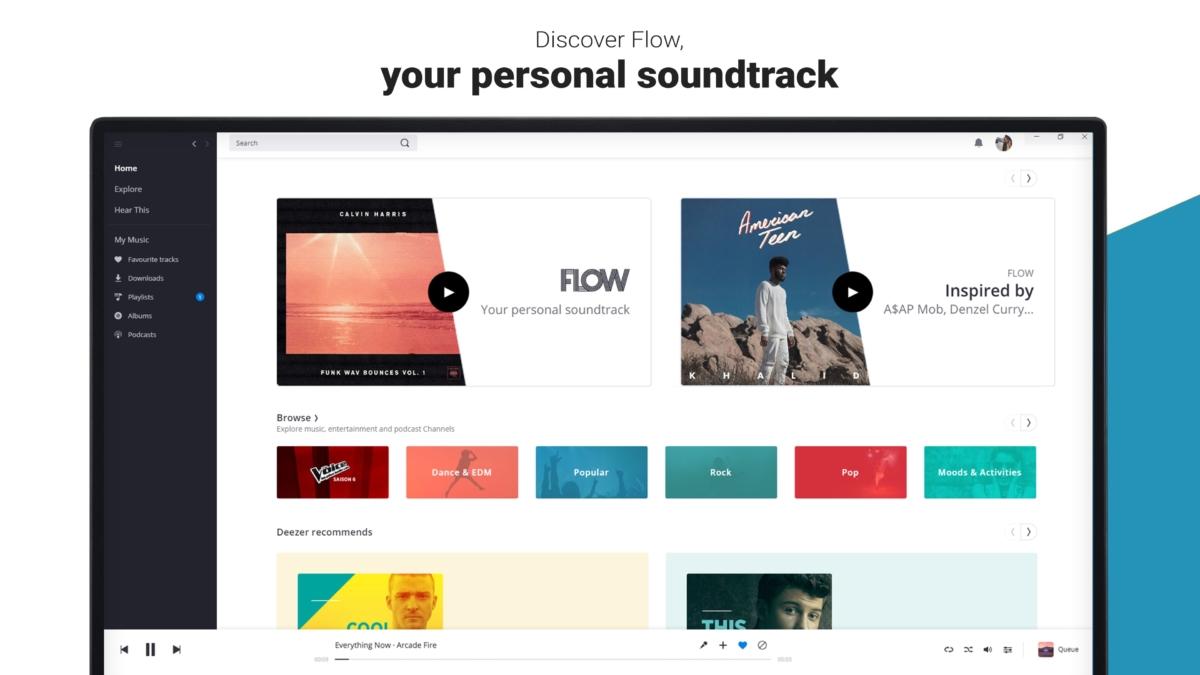 Music app Deezer now in the Microsoft Store